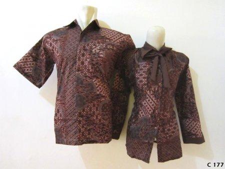 Model Baju Batik Untuk Kerja C177 Pusat Batik Gamis